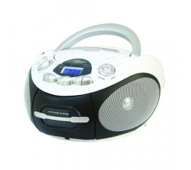 New Majestic AH-2387R MP3 USB Lettore CD personale Nero, Bianco