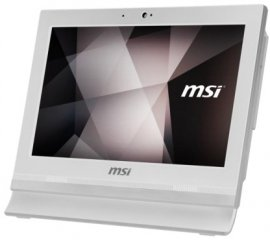"MSI Pro 16T 7M-086XEU 39,6 cm (15.6"") 1366 x 768 Pixel Touch screen Intel® Celeron® 4 GB DDR4-SDRAM 256 GB SSD Wi-Fi 5 (802.11ac) Bianco PC All-in-one FreeDOS"