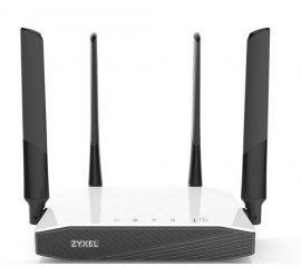 Zyxel NBG6604 router wireless Dual-band (2.4 GHz/5 GHz) Fast Ethernet Nero, Bianco