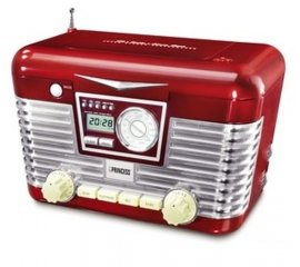 Princess Red Clockradio/CD Player LTD ED Analogico 2 W Rosso