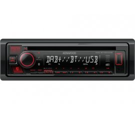 Kenwood KDC-BT450DAB Ricevitore multimediale per auto Nero 50 W Bluetooth