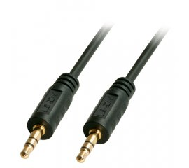 Lindy 35640 cavo audio 0,25 m 3.5mm Nero