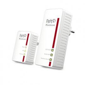 AVM FRITZ!Powerline 540E WLAN Set International 500 Mbit/s Collegamento ethernet LAN Wi-Fi Bianco 2 pezzo(i) e' ora in vendita su Radionovelli.it!