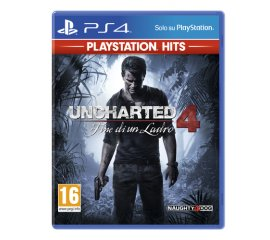 Sony Uncharted 4: Fine di un Ladro (PS Hits)