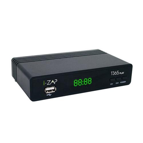 i-ZAP T365 Play Cavo, Ethernet (RJ-45), Terrestre HD Nero e' tornato disponibile su Radionovelli.it!