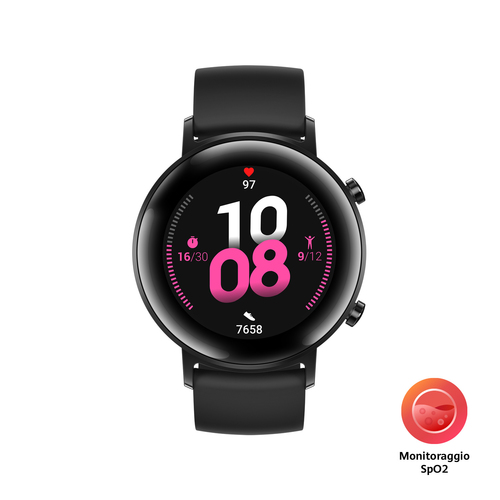 "Huawei WATCH GT 2 3,05 cm (1.2"") 42 mm AMOLED Nero GPS (satellitare) e' ora in vendita su Radionovelli.it!"