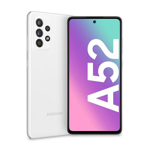 "Samsung Galaxy A52 128 GB Display 6.5"" FHD+ Super AMOLED Awesome White e' ora in vendita su Radionovelli.it!"