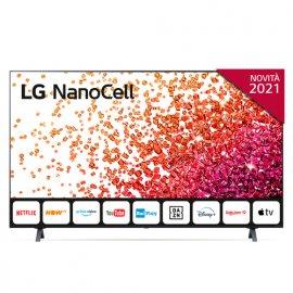 """LG NanoCell 50NANO756PA 50"""" Smart TV 4K Ultra HD NOVITÀ 2021 Wi-Fi Processore Quad Core AI Sound e' ora in vendita su Radionovelli.it!"""