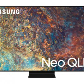 """Samsung TV Neo QLED 4K 85"""" QE85QN90A Smart TV Wi-Fi Titan Black 2021 e' ora in vendita su Radionovelli.it!"""