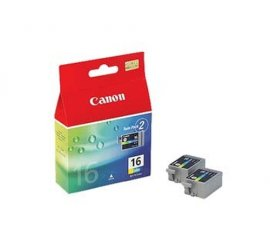 Canon BCI-16 Ink Cartridge Originale Ciano, magenta, Giallo Multipack