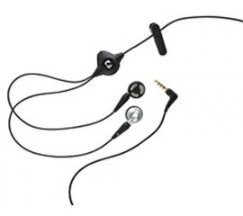 BlackBerry Stereo Headset Cuffia Nero