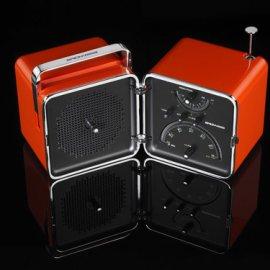 Brionvega Cubo radio Portatile Analogico e digitale Arancione venduto su Radionovelli.it!