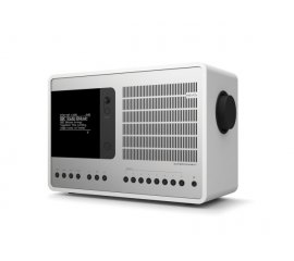 SUPERCONNECT WHITE/SILVER RADIO DAB+/FM/INTERNET/W