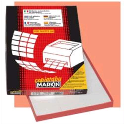 MARKIN CONFEZIONE 100 ETICHETTE AUTOADESIVE 297x21 venduto su Radionovelli.it!