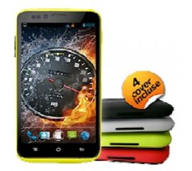 "NGM FORWARD RACING HD DUAL SIM 5"" HD IPS QUAD CORE 4 COVER COLORATE INCLUSE"