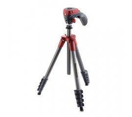 MANFROTTO COMPACT ACTION TREPPIEDE + TESTA FOTO IN