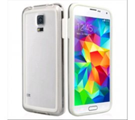 SBS SAMSUNG GALAXY S5 COVER BUMPER IN PVC BIANCO T