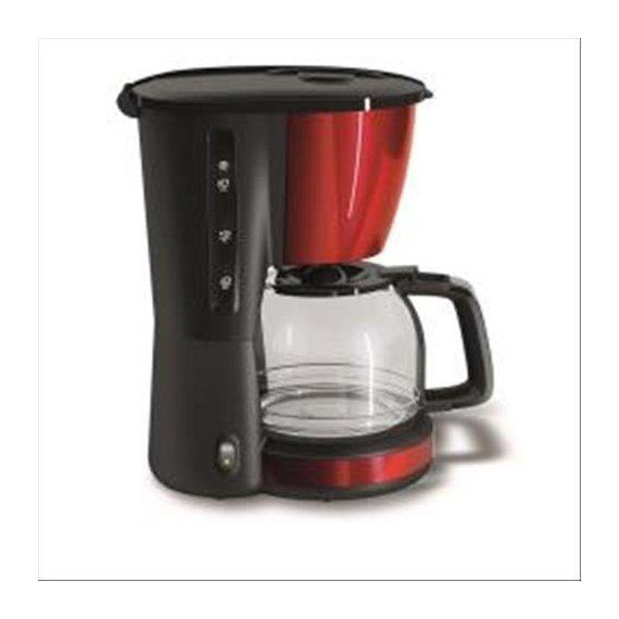 HOTPOINT/ARISTON CM TDC DR0 MACCHINA PER CAFFE' AMERICANO 10 TAZZE 1.000 W 1.25 LT COLORE ROSSO/NERO