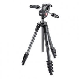 MANFROTTO COMPACT ADVANCE KIT TREPPIEDE + TESTA FOTO