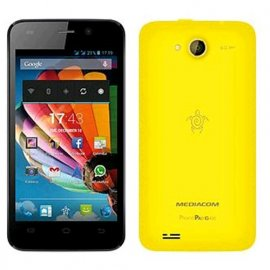 "MEDIACOM PHONEPAD DUO G400 DUAL SIM 4"" ANDROID 4.4 ITALIA YELLOW"