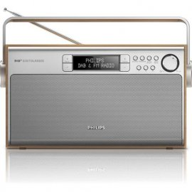 PHILIPS AE5220 RADIO DIGITALE POTENZA 6W MARRONE/S e' tornato disponibile su Radionovelli.it!