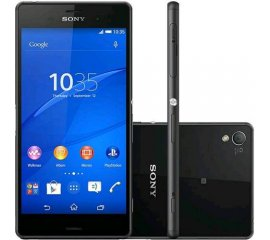 "SONY XPERIA Z3+ PLUS 5.2"" OCTA CORE 32GB RAM 3GB 4G LTE WATERPROOF ITALIA BLACK"