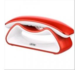 TELECOM FACILE SMILE RED-WHITE DECT