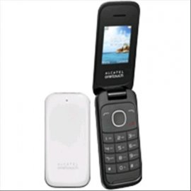 "ALCATEL 10.35X 1.8"" CLAMSHELL TIM WHITE"