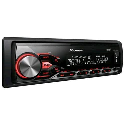 PIONEER MVH-280DAB AUTORADIO SINTOLETTORE MP3 4x50W INGRESSO AUX+USB ANTERIORE FRONTALINO ESTRAIBILE COLORE NERO venduto su Radionovelishop.it!