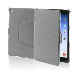 CELLY iPAD AIR CUSTODIA IN ECOPELLE COLORE GRIGIO