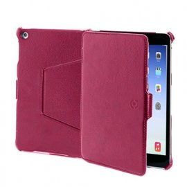 CELLY iPAD AIR CUSTODIA IN ECOPELLE COLORE ROSSO