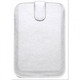 "CELLY TABLET 7"" CUSTODIA A FONDINA UNIVERSALE IN ECOPELLE COLORE BIANCO"
