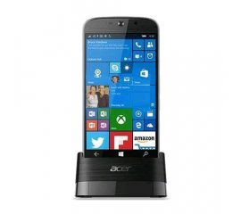 "ACER JADE PRIMO DUAL SIM + DOCKING STATION PACK 5.5"" HEXA CORE 32GB RAM 3GB 4G LTE WINDOWS PHONE 10 ITALIA BLACK"