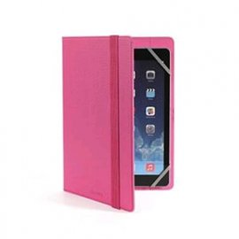 "CELLY TABLET 7""/8"" CUSTODIA UNIVERSALE A LIBRO IN ECOPELLE COLORE ROSA"