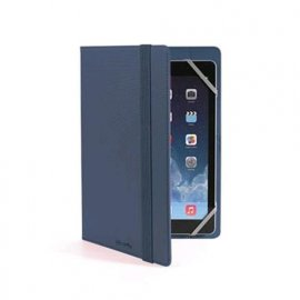 "CELLY TABLET 7""/8"" CUSTODIA UNIVERSALE A LIBRO IN ECOPELLE COLORE BLU"