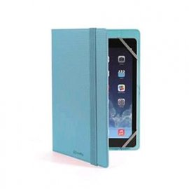 "CELLY TABLET 7""/8"" CUSTODIA UNIVERSALE A LIBRO IN ECOPELLE COLORE AZZURRO"