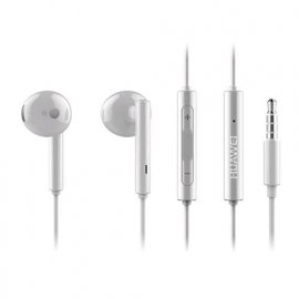 HUAWEI AM 115 AURICOLARE ORIGINALE VIVAVOCE STEREO 3,5 mm BIANCO