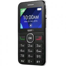 """ALCATEL 20.08G EASY PHONE 2.4"""" CON FOTOCAMERA E BASETTA RICARICA ITALIA BLACK/PURE WHITE venduto su Radionovelli.it!"""