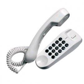 SAIET MINI TELEFONO FISSO COLORE BIANCO