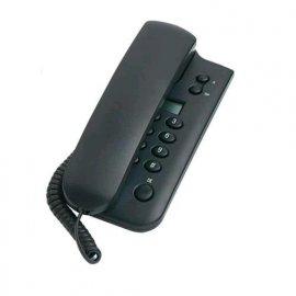 SAIET TELEFONO FISSO DISPLAY COLORE GRIGIO