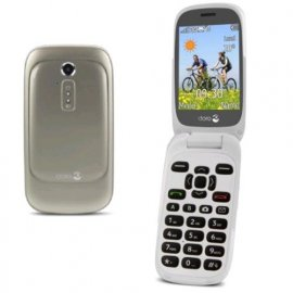 DORO 6520 EASY PHONE CLAMSHELL 3G ITALIA CHAMPAGNE/WHITE