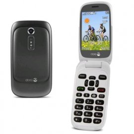 DORO 6520 EASY PHONE CLAMSHELL 3G ITALIA GRAPHITE/