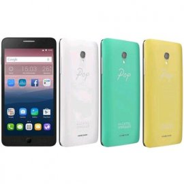 """ALCATEL POP 3 STAR 4G DUAL SIM 5"""" HD QUAD CORE 8GB RAM 1GB 4G LTE ITALIA WHITE + 3 COVER OMAGGIO"""