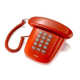 BRONDI SIRIO TELEFONO DA TAVOLO ROSSO