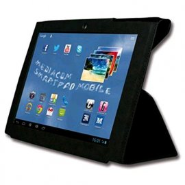MEDIACOM SMART PAD M-MP85S23G CUSTODIA ORIGINALE TABLET COLORE NERO